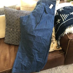 New with tags Gap wide leg trouser jeans